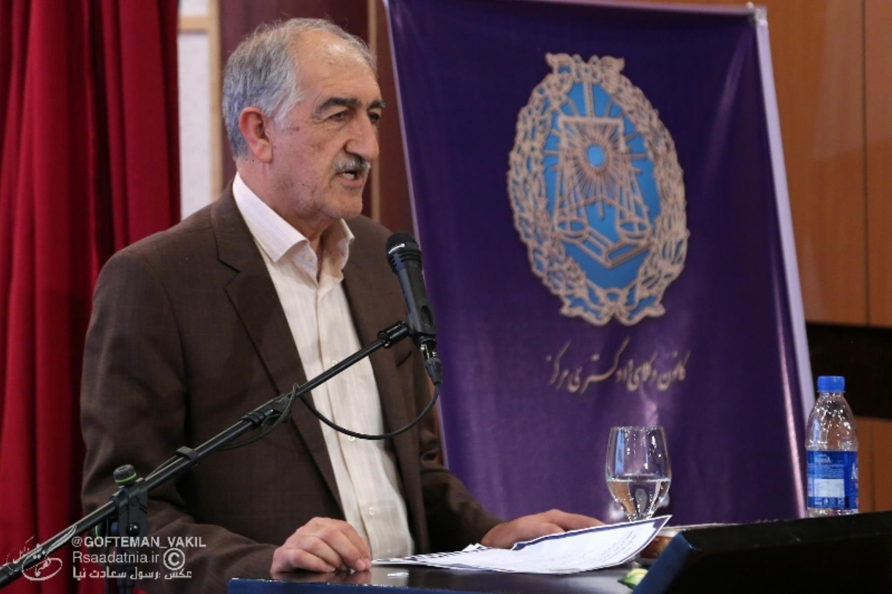 شیرزاد رحمانی عضو هیات مدیره کانون وکلای فارس
