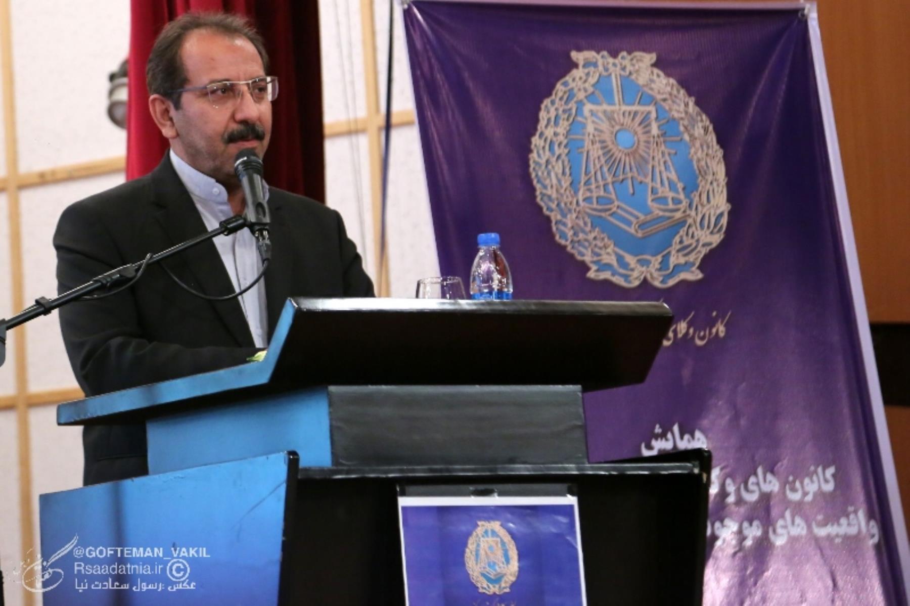 حسین رضا زاده عضو کمیسیون قضائی مجلس