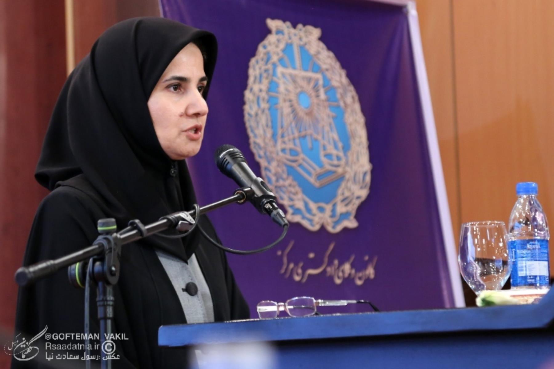 لعیا جنیدی معاون حقوقی رئیس جمهور