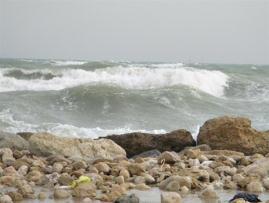 خلیج فارس مواج و متلاطم می شود